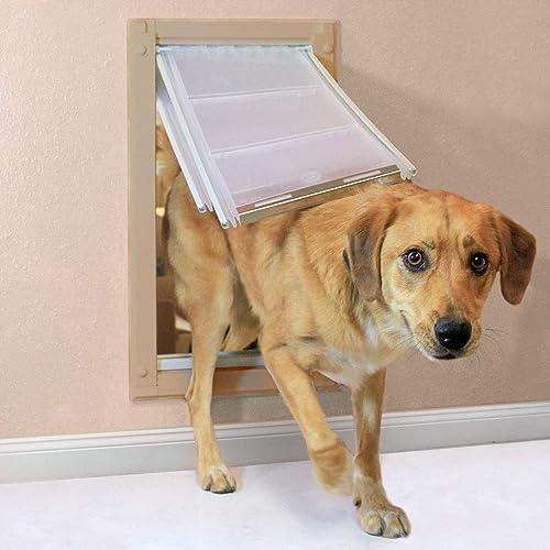 Best dog door for wall mount: Endura Flap Double Flap Wall Mount Pet Door
