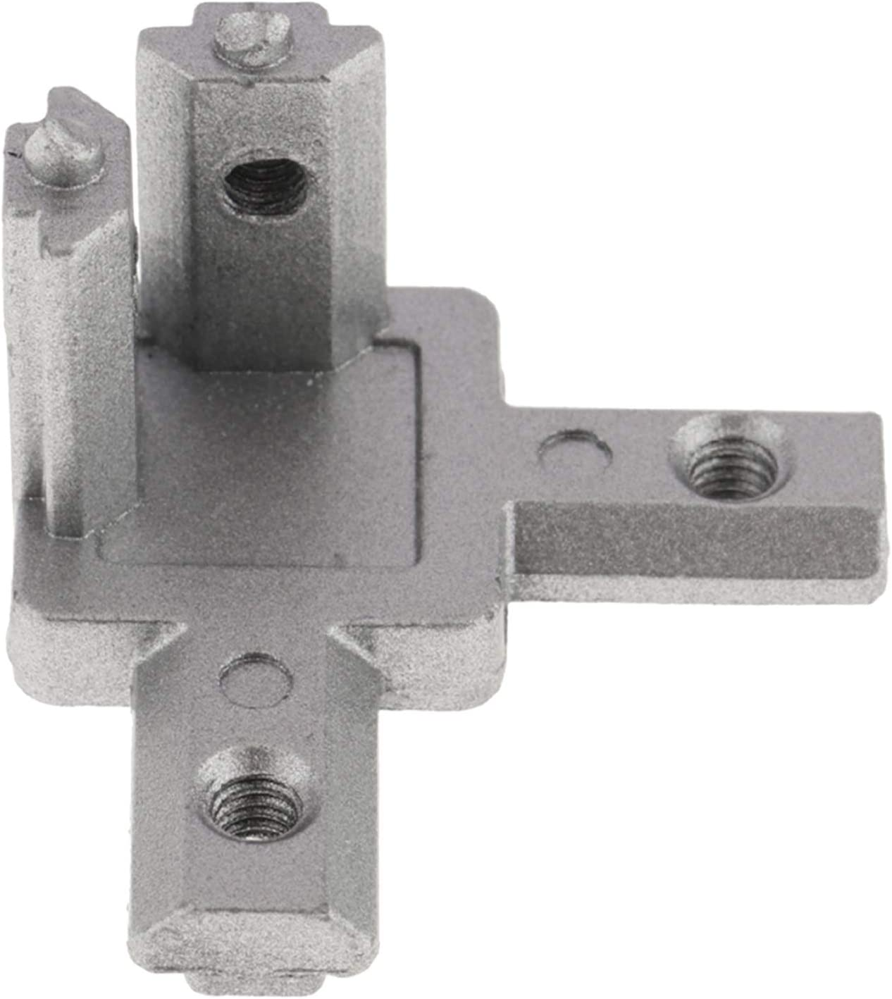 Milageto L 3 Pole 90 Degree Inner Corner Connector for Aluminum T Slot Profile 2020 EU