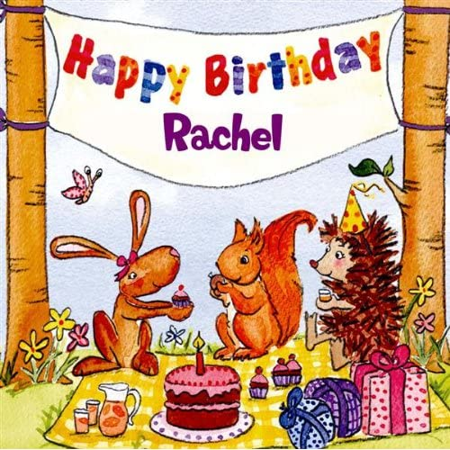 Happy Birthday Rachel By The Birthday Bunch On Amazon Music Amazon Com