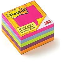 Bloco de Notas Adesivas Post-it®, Cubo Tropical - 450 folhas
