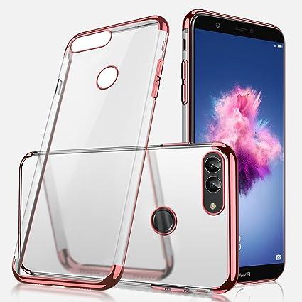 new styles 46612 1e720 Amazon.com: Huawei P Smart Case,Huawei P Smart Clear Case,Ultra-thin ...