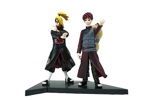 Anime de Naruto Gaara & Deidara figura Set: Amazon.es: Hogar