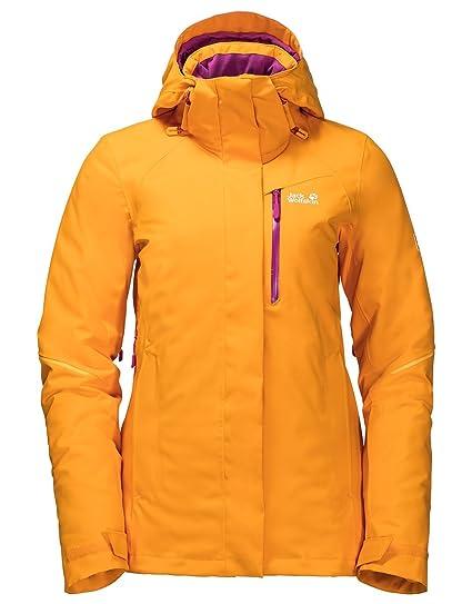 Womens Exolight ICY Ski Jacket - Citrine Yellow  Amazon.co.uk  Clothing 36f2922a6