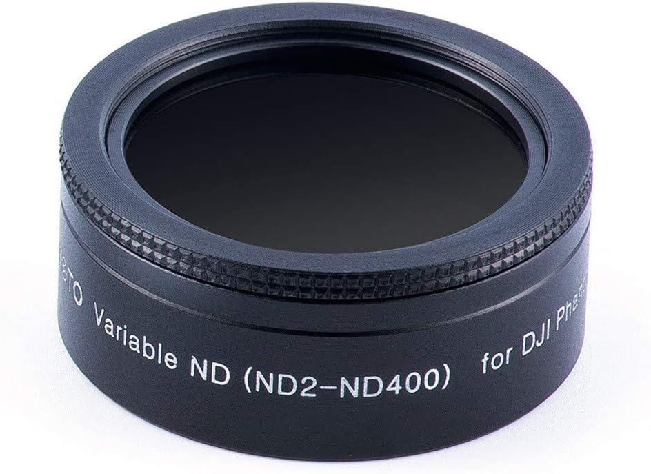 Putars Camera Lens Filters Drone Filter Polarizer Gray Adjustable Dimming Lens Set Compatible for DJI Phantom 4Pro