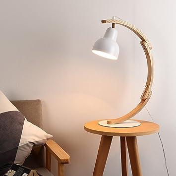 liguqi @ Fácil Litera rische sólida madera lámpara de pie ...