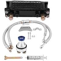 OKAY MOTOR Engine Oil Cooler for 2005-2007 Chrysler 300 Dodge Charger Magnum 2.7L 3.5L 4792912AC 4792912AE