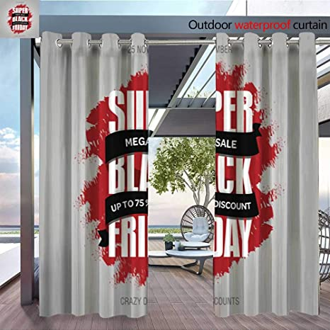 Amazon Com Outdoor Free Standing Outdoor Privacy Curtain