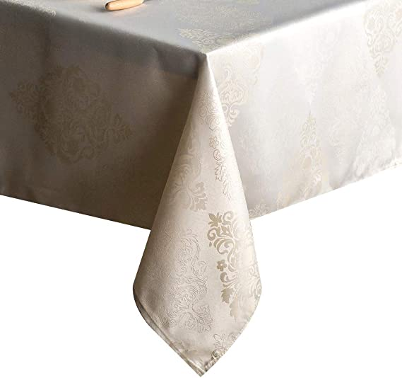 TRLYC Red Rectangular stretch banquet Table Cover Spandex Tablecloth,Stretch Bar Bistro Wedding Decorations