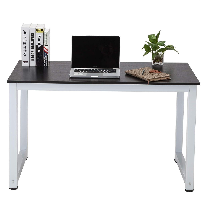 Mecor Computer Desk Pc Laptop Table Workstation, Steel Frame Writing