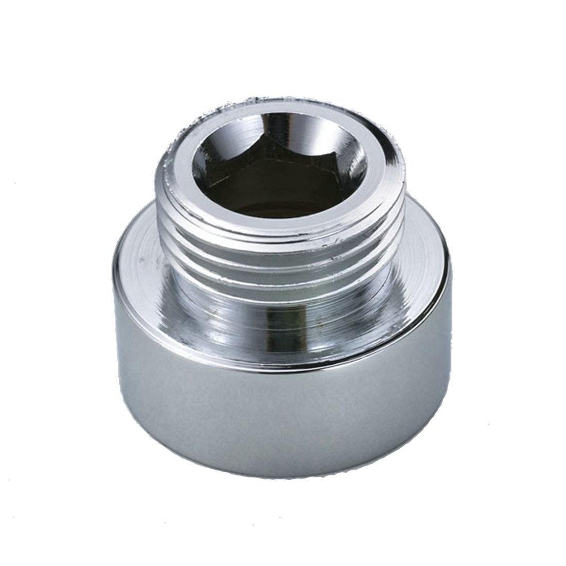 Shower Hose Reducer Chrome Plated Metal Adapter 3/4 FL To 1/2 ML ...