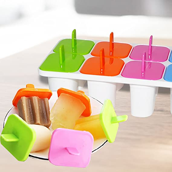 Amazon.com: XGMJ Ice Cream Mould Repeated Use Non-Toxic Ice Lolly Maker: Home & Kitchen