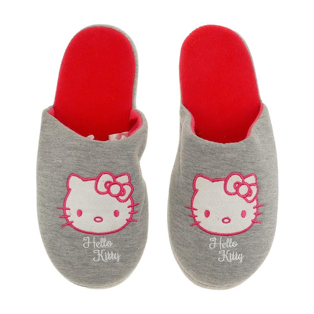 Hello Kitty Damenhausschuhe