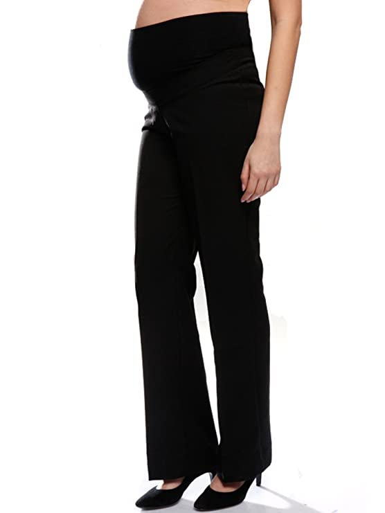 01ac379b371df Tailored Maternity Trousers, Over The Bump, Sizes 8-22 (Available in 3 Leg  Lengths), Smart Office Pregnancy Work Pants: Amazon.co.uk: Clothing