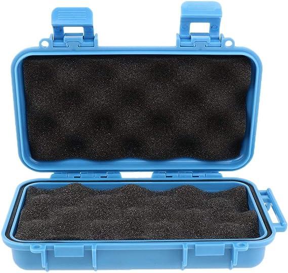 Willlly Caja De Herramientas A Prueba De Agua Caja De Chic Herramientas Vacía Caja Al Aire Libre Para La Venta De Herramientas Inicio Uso Diario Producto (Color : Blau M, Size :