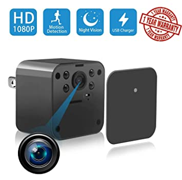 Amazon.com: Nanny Spy Cam - Cargador de pared para cámara de ...