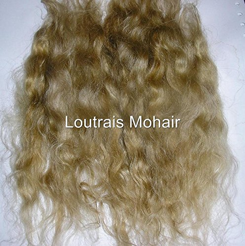 DOLL HAIR REBORN MOHAIR DOLL MAKING - 10 GRAMS BLONDE - Mohair Blonde