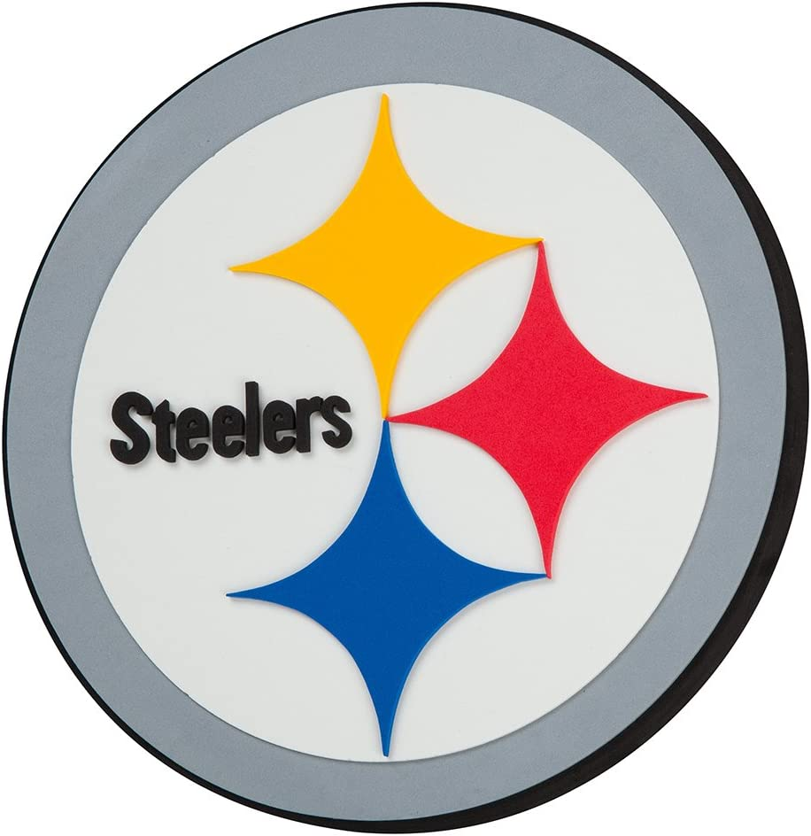 NFL Pittsburgh Steelers 3D Foam Wall Sign