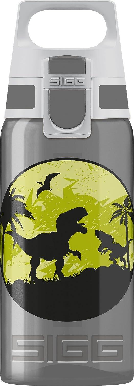 0.4 L resistente botella para ni/ños con tapa herm/ética SIGG Miracle Pirates Cantimplora infantil botella de agua de aluminio para usar con una mano