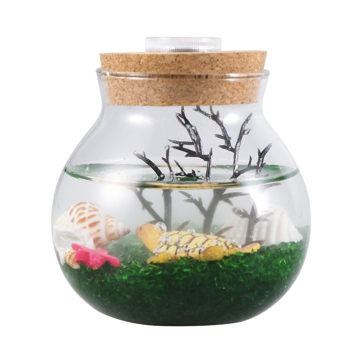 POPETPOP pecera acuática, acuarios, Plantas, Peces, Burbujas ...