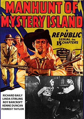 Manhunt Of Mystery Island by Cheezy Flicks Ent
