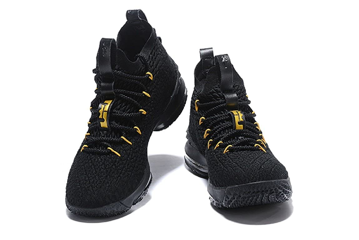 53042f992950 2018 Nike Lebron XV Black- Basketball Shoes