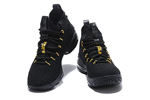 a0aa0334c72d7d 2018 Nike Lebron XV Black- Basketball Shoes
