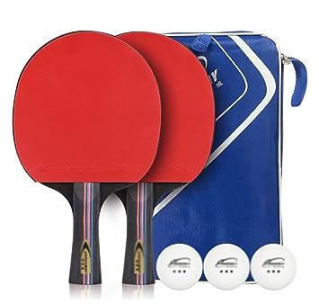 xianw Raqueta de Tenis de Mesa Tenis de Mesa Raqueta settraining ...