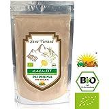 Maca Poudre 500 g Biologique Aliment superbe de qualité prime, Convient aux végétariens et aux végétaliens Riche en vitamine B1, B2, B6, calcium, fer et zinc Certifié Biologique par Sana Versand