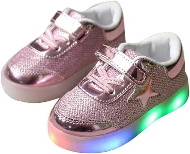 Kids Girls Boys LED Shoes Light Up