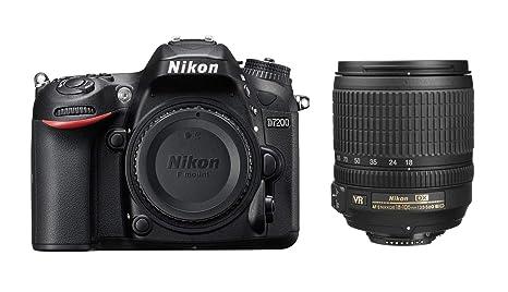Nikon D7200 242 Mp Digital Slr Camera With Af S Amazonin Electronics