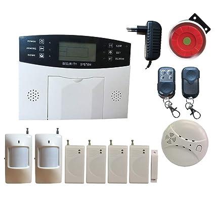 HuilingyiTech Sistema de Alarma de Seguridad para el hogar ...