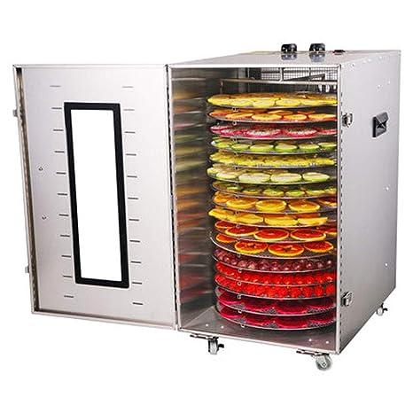 Deshidratador de alimentos, Secador eléctrico de temperatura ajustable del cuerpo de acero inoxidable de 40