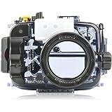 seafrogs 60m/195ft Wasserdicht Unterwasser Kamera Gehäuse Fall Arbeit für A6000A6300A6500Kameras mit 16–50mm Objektiv