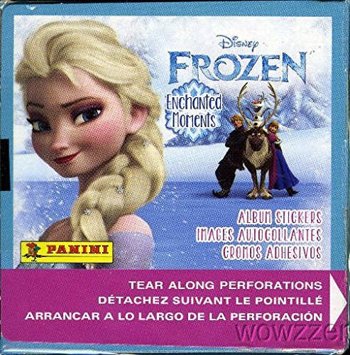 2015-panini-disney-frozen-enchanted-moments-factory-sealed-50-pack-sticker-box-with-350-brand-new-mi