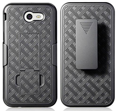 Amazon com: Galaxy J3 Prime Case Clip, NAKEDCELLPHONE'S