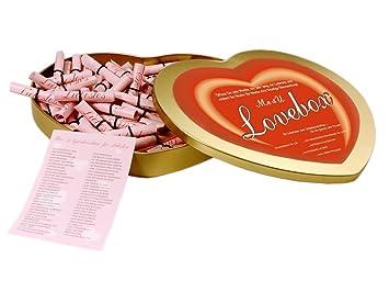 Me4U Lovebox   Herzbox Mit 52 Liebeslosen Zum Selber Beschriften ♥  Liebesgeschenk, Valentinstagsgeschenk, Geschenk