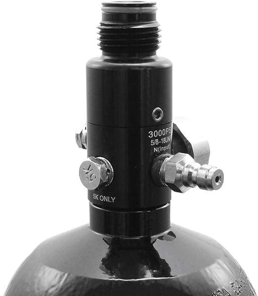Tippmann 0 8l 48ci Hp Tank Bottle Filling Pressure 3000 Psi With Regulator Large Sport Freizeit