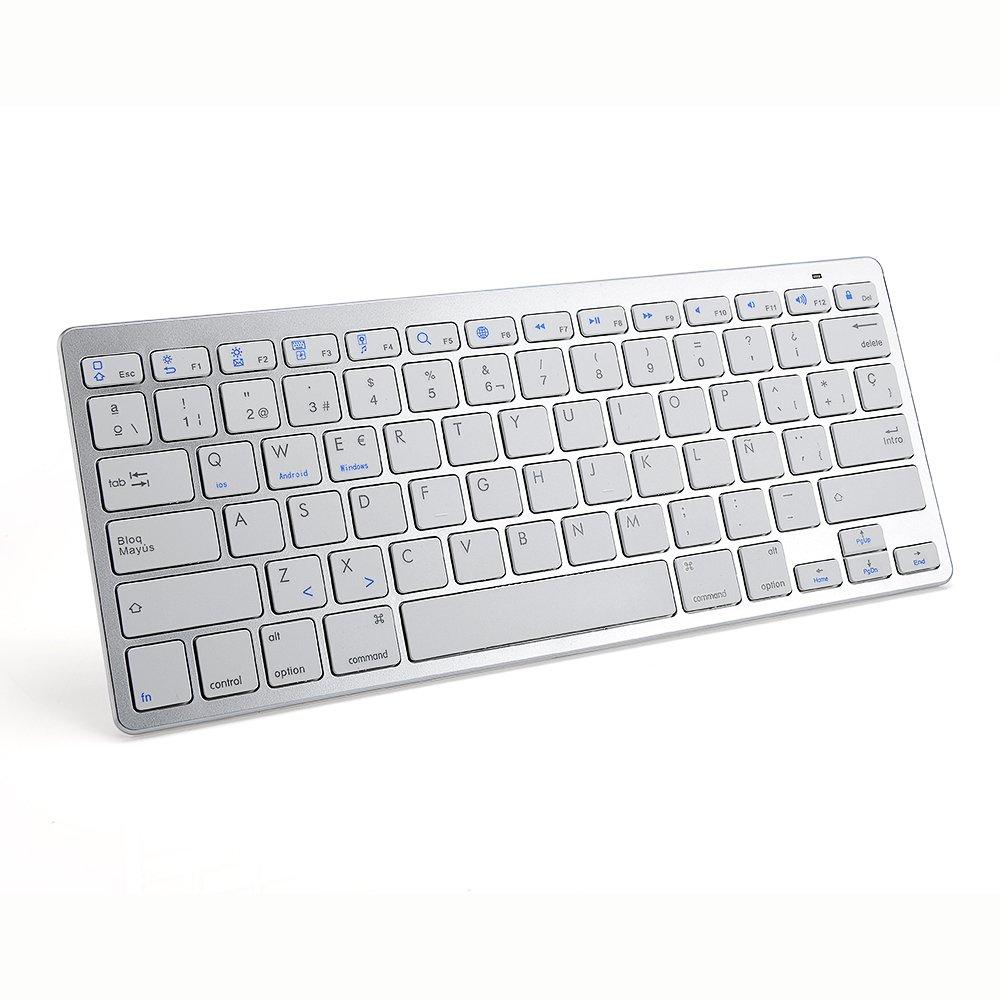 TopMate Bluetooth Ultra-Slim Teclado portátil: Amazon.es: Electrónica
