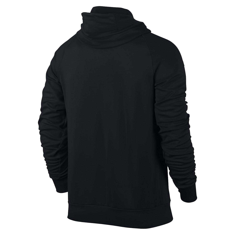 06790c16556a15 NIKE Mens Jordan 360 Fleece Full Zip Hooded Sweatshirt Black Infrared 23  808690-010 Size 3X-Large  Amazon.ca  Sports   Outdoors