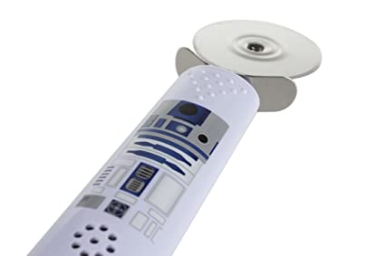 Star Wars Pizza Cutter - R2-D2 Pizza Wheel With Sound Effects - 9