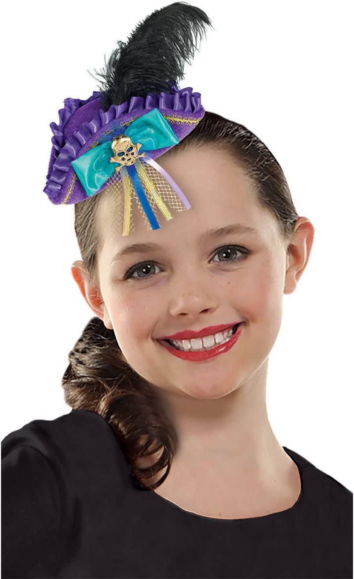 amscan Mini Tricorn Hat, Disney Descendants 2 Collection, Party Accessory, Multicolor