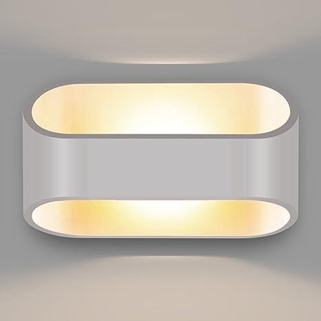 Amzdeal - Applique 3 W Lampada decorativa di interno in alluminio ...