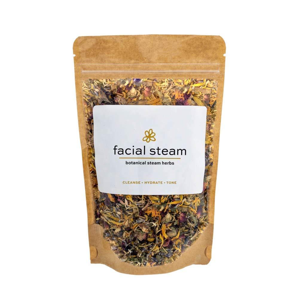 Botanical Facial Steam   4 Steams   Organic Skin Care   All Skin Types   Cleanse, Hydrate, Tone   USDA Organic Herbs   Wildflower Wellness