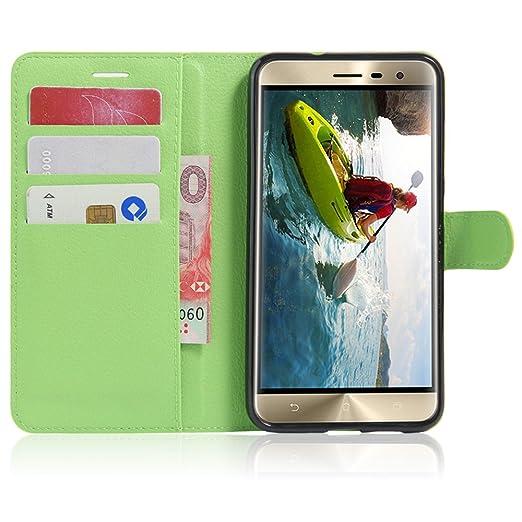 "24 opinioni per Wallet Cover Per Asus ZenFone 3 ZE520KL (5.2""), Custodia Per ZenFone 3 ZE520KL-"