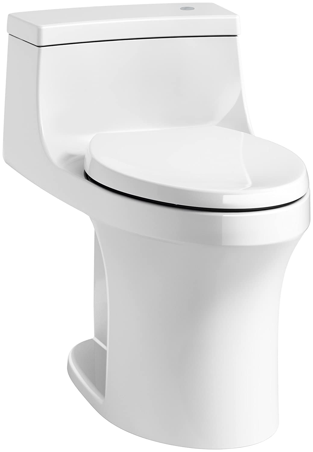 KOHLER K-4000 San Souci Comfort Height Touchless Flush