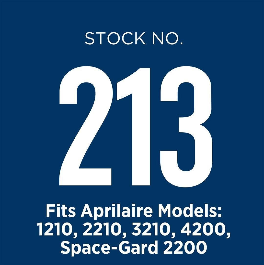 Aprilaire 213 A4 Filter for Air Purifier Models 1210, 2210, 3210, 4200, Space-Gard 2200 (Pack of 4) by Aprilaire (Image #8)