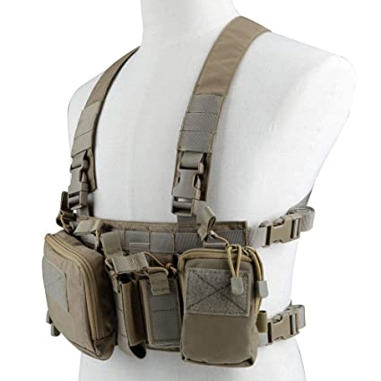 Kayheng Tactical Assault Chest Rig 500D Molle Multicam Chaleco ...