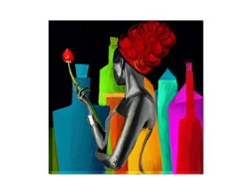 Los Colores del Caribe Sartén Parrilla Pintado A Mano ...