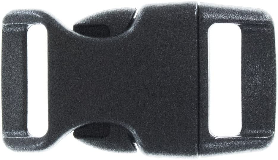 "GOLBERG G 5/8"" Contoured Side Release Buckles - Ideal for Paracord Bracelets - Multiple Colors & Quantities"