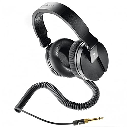 Focal Spirit Professional Over-Ear Closed Back Circum-Aural Studio Headphones (Black)